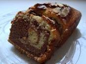 Plum-cake bicolore nocciole nutella
