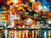 Riflessioni riva mare: quadri d'estate Leonid Afremov