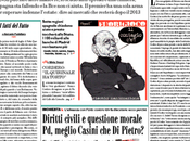 Prime pagine giornali: domenica luglio 2012