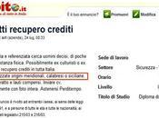 Razzismo tricolore: azienda recupero crediti Pesaro cerca galeotti meridionali