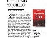 """L'OPERAIO """"Squillo"""" (PIERO MACALUSO, nome Carducci lavoravo Fiat"""", Edizioni Zisa)"""