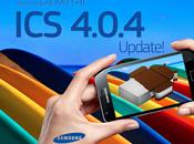 Rool Ufficiale Android 4.0.4 Samsung Galaxy l'attesa volta termine