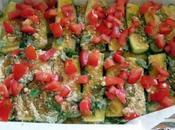 Teglia zucchine gratinate