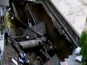 Muore risucchiato dalla terra, video shock taiwan