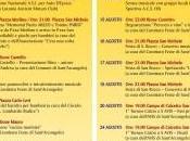 Sant'Arcangelo un'estate qualità. Tante iniziative proposte dalle associazioni