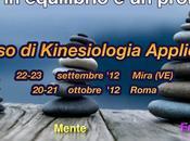 Corso Kinesiologia Applicata: nuove date Mira(VE) Roma