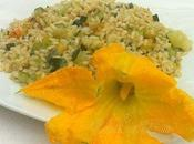 Ricetta Vegana Risotto fiorito pesto