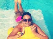 Vacanze vippissime ibiza lisandra silva. showgirl diverte pubblica tutto facebook!