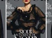 Celebrity model Dolce Gabbana Vogue Paris