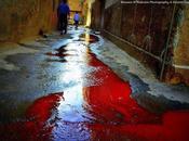 Siria/ Suspy, Damasco. fiume sangue riempie strade