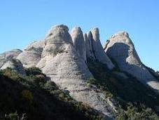 Montserrat montagna mistica cuore della Catalogna