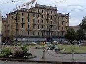 Piazza Carlina, grigia mattinata fine agosto