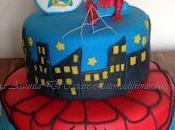 Ricomincio dove lasciato.... Spiderman cake