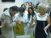 """Fondazione """"Leonardo Sinisgalli"""" dona libri bambini alla biblioteca pediatrica dell'Ospedale Villa d'Agri"""