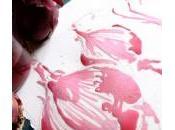 Dipingere cipolla, pensa Maurizia Gentili pianura colora rosa