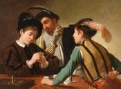 CARAVAGGIO: bari confronto giovane Caravaggio nella casa cardinale Francesco Maria Monte