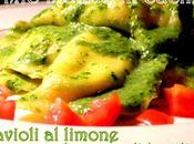 Ravioli limone pesto leggero basilico