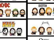 Alcuni gruppi musicali versione South Park