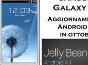 Android ottobre Samsung Galaxy