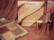 KIKO Lavish Oriental. (Colour Seduction Eyeshadow Palette Sensuous Burgundy Unlimited Lipstick Cherry)