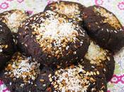 Gluten free, vegan, coconut-cocoa-almond cookies!
