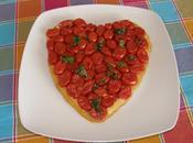 Torta rovesciata pomodorini basilico