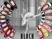 Bloch nuova collezione 2013: ballerine puntano bicolore