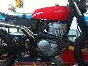 Serbatoio Honda CG125 verniciato marmitta terminale...