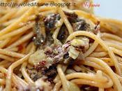 Spaghetti integrali pesto radicchio