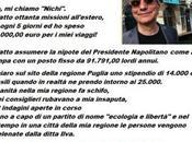 Nichi Vendola assunto tempo indeterminato nipote dell'ex comunista Giorgio Napolitano oltre mila Euro l'anno