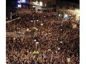 Madrid: piazza occupata protesta degli indignados