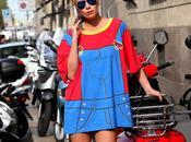 Street...Zhanna, Milan Fashion Week