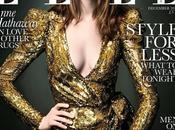 Anne Hathaway Balmain Elle Dicembre 2010