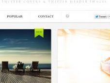 Twitrcovers tante immagini gratis personalizzare nuovo profilo Twitter