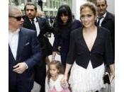 Jennifer Lopez famiglia, shopping sfilate Parigi