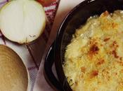 Zuppa cipolle gratinata