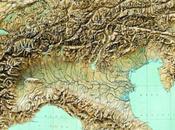 Monti, colline pianure dell'Italia Settentrionale