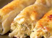 Ricette primi pesce: cannelloni gamberetti