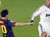 Barça-Real, camisetas Messi Ronaldo Rivaldo