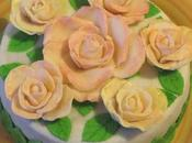 Torta decorata rose