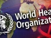L'Organizzazione Mondiale della Sanità prendendo mazzette giganti cibo spazzatura