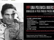 polemica inversa arte contemporanea ispirata alla poesia Pier Paolo PASOLINI