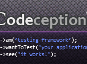 Codeception: test