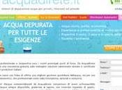 line nuovo sito depuratori d'acqua Acquadirete