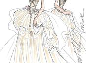 Harrods Natale presenta principesse Disney vestite grandi stilisti