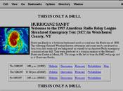 Sandy. simulazione uragano 1997