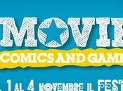 Ecco altri appuntamenti Lucca Comis Games 2012 riguardanti mondo cinema