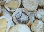 Cestini frolla ripieni crema amarena ricotta nutella