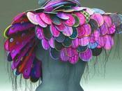 Splendidi patterns colori magnifici gioielli-scultura indossabili creati marjorie schick
