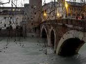 Roma Tevere piena Ondata massima prevista